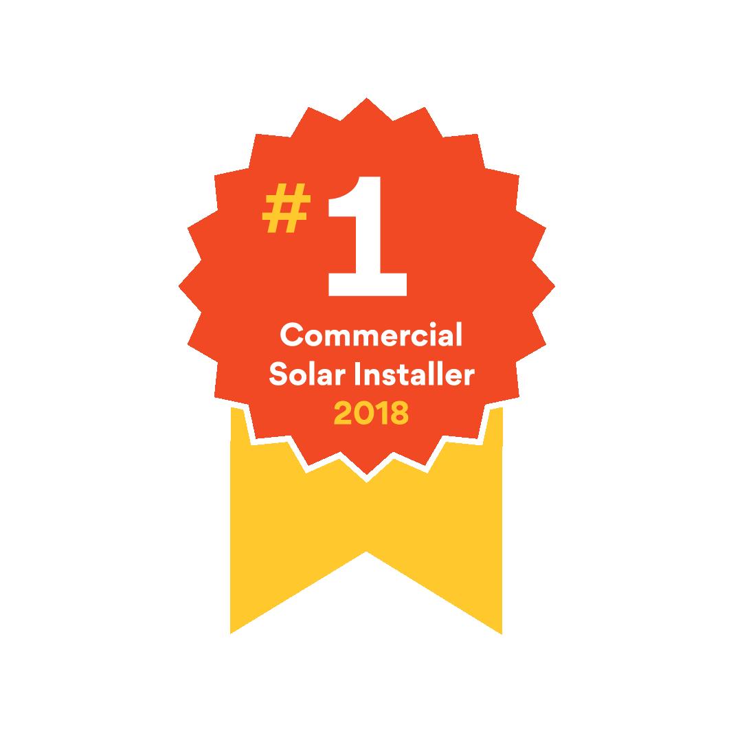 number 1 commercial solar installer