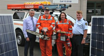 Fair Go for the West powers Blacktown SES with solar panels