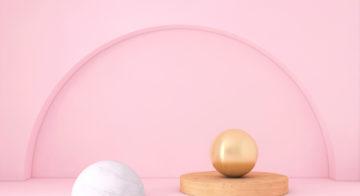Decor inspo: Millennial pink lamps