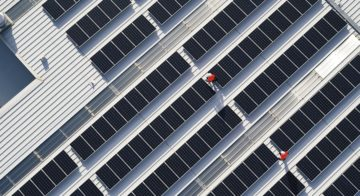 Large scale solar shines bright