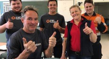 Origin wins gold at Workplace Giving Awards