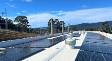 Powering the power stations with solar