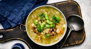 Split Pea and Lentil Soup Recipe