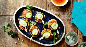 BBQ Thai Fishcakes With Cucumber Recipe