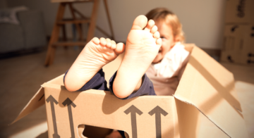 10 ways to keep the kids entertained while moving house