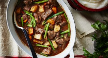 Beef and Vegetable Stovetop Stew Recipe