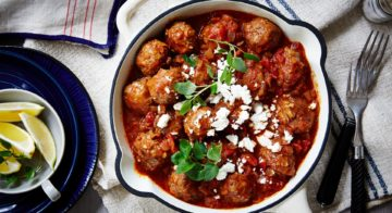 Stovetop Greek Meatballs Recipe