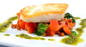 Kingfish Fillets With Warm Salad Recipe