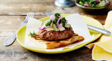 Middle Eastern Lamb Burger Recipe