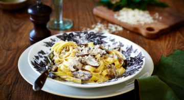 Mushroom Tagliatelle Recipe