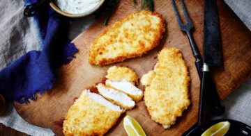 Parmesan-Crumbed Chicken Recipe