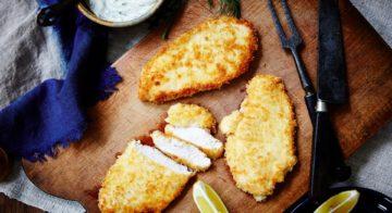 Parmesan-Crumbed Chicken Recipe