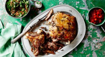 Lamb With Mint and Lentil Salsa Recipe