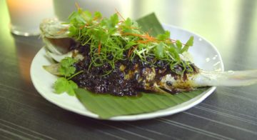 Whole Steamed Fish With Black Bean Recipe