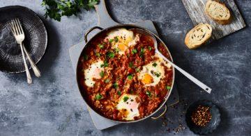 Shakshuka (Baked Eggs) Recipe