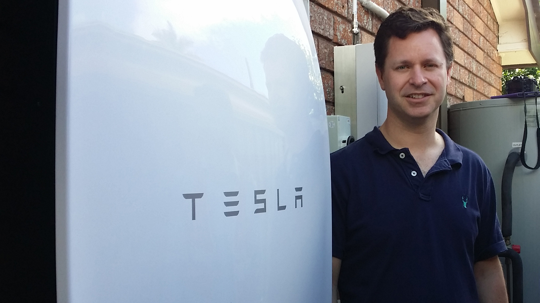 Origin Installs First Tesla Powerwall Battery to Solar Customer