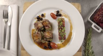 Veal Paupiettes With Ratatouille Recipe