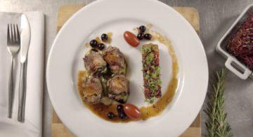 Veal Paupiettes With Ratatouille Recipe