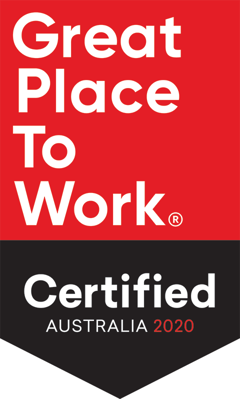 Great Place to Work Certified Australia 2020